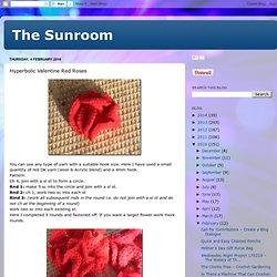 Hyperbolic Valentine Red Roses