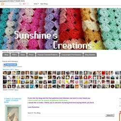 Sunshine's Creations.Vintage Threads Inc.com: Squared up Yoyo Tutorial