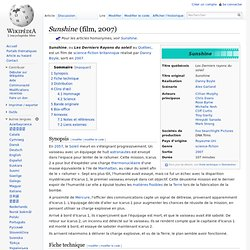 Sunshine (film, 2007)