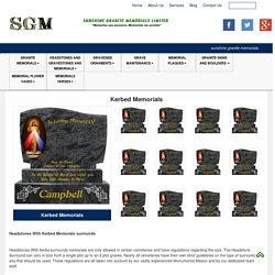 Kerbed Memorials Headstones