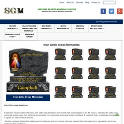 Irish Celtic Cross Memorials