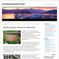 Sunshine Coast Day 4 – things to do in Halfmoon Bay