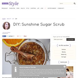 Sunshine Sugar Scrub