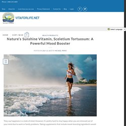 Nature's Sunshine Vitamin, Sceletium Tortuosum: A Powerful Mood Booster