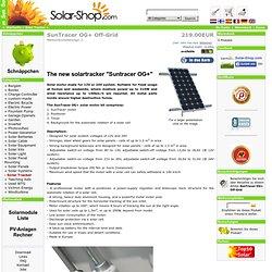 Suntracer OG+ the handy solar tracker