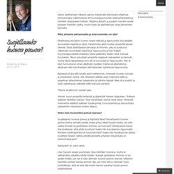 Ajatuksia johtamisesta - Ari Rämö