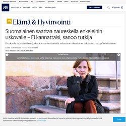 hs Suomalainen saattaa naureskella enkeleihin uskovalle – Ei kannattaisi, sanoo tutkija