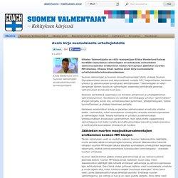 Avoin kirje suomalaiselle urheilujohdolle - Suomen Valmentajat