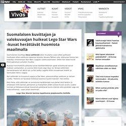 Suomalaisen kuvittajan ja valokuvaajan huikeat Lego Star Wars -kuvat herättävät huomiota maailmalla
