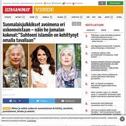 """Suomalaisjulkkikset avoimena eri uskonnoistaan – näin he jumalan kokevat:""""Suhteeni islamiin on kehittynyt omalla tavallaan"""" - Viihde - Ilta-Sanomat"""