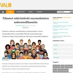 Tilastot vääristävät suomalaisten uskonnollisuutta
