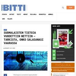 Suomalaisten tietoja vuodettiin nettiin – tarkista, onko salasanasi vaarassa – Mikrobitti