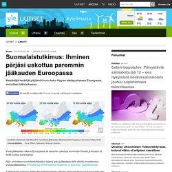 Suomalaistutkimus: Ihminen pärjäsi uskottua paremmin jääkauden Euroopassa