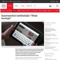 Suomeenkin kehitetään iPad-kouluja