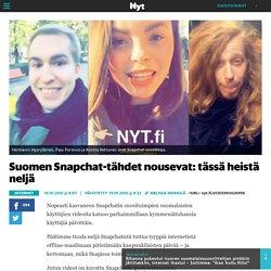 Suomen Snapchat-tähdet nousevat: tässä heistä neljä