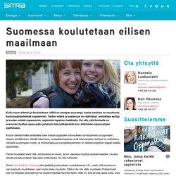 Suomessa koulutetaan eilisen maailmaan