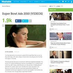 Super Bowl Ads 2010 [VIDEOS]