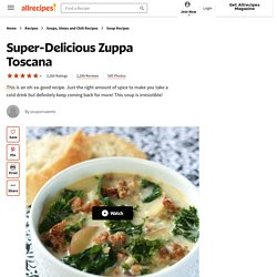 Super-Delicious Zuppa Toscana Recipe