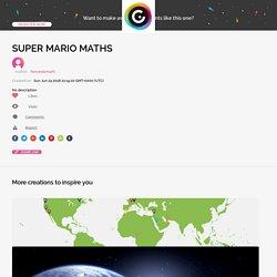 SUPER MARIO MATHS by fernandomarti on Genial.ly