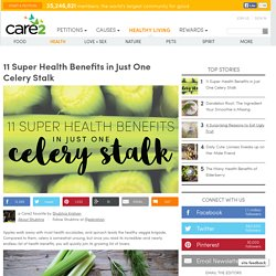 11 Super Health Benefits in Just One Celery Stalk