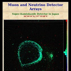 Super-Kamiokande detector in Japan