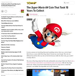 The Super Mario 64 Coin That Took 18 Years To Collect