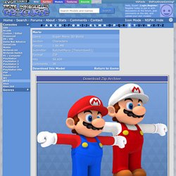 Wii U - Super Mario 3D World - Mario - The Models Resource