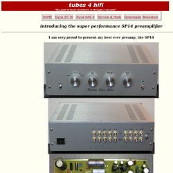 super performance SP14 preamp