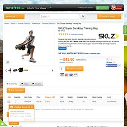 SKLZ Super Sandbag Training Bag for £50.00 at Newitts.com