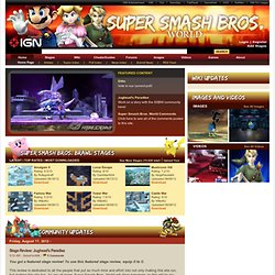 Download Super Smash Bros Brawl Stages Custom Built by Gamers (Build 20120101031015)