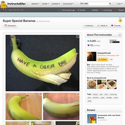 Super Special Bananas