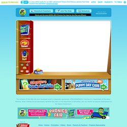 SUPER WHY! . GAMES