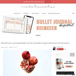 Superalimentos: Beneficios y propiedades de la granada - Violeta Costas