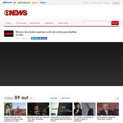 Blocos de enredo superam corte de verba para desfilar no Rio - GloboNews – Jornal GloboNews