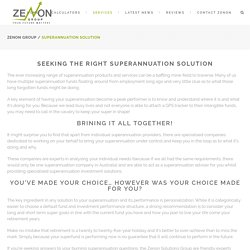 Superannuation Solutions in Gold Coast - Zenon Group