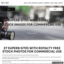 27 Superb Sites With Royalty Free Stock Images For Commercial Use