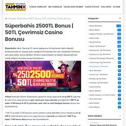 50TL Çevrimsiz Casino Bonusu
