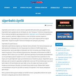 süperbahis - Betboo & yeni adresi mobil giriş *superbahis üyelik