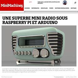 Web radio stylée avec Raspberry