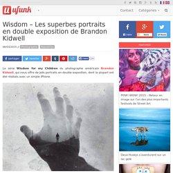 Wisdom – Les superbes portraits en double exposition de Brandon Kidwell