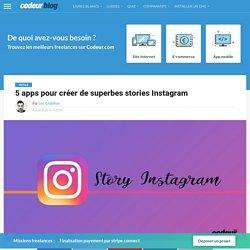 5 apps pour créer de superbes stories Instagram