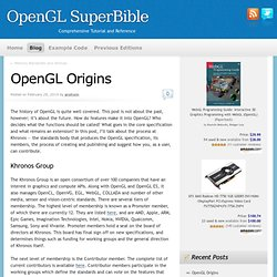 OpenGL SuperBible Home Page