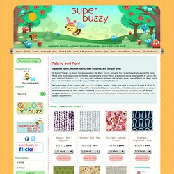 superbuzzy.com, Japanese fabric and craft supplies!