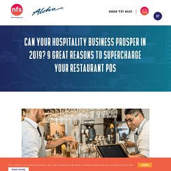 Supercharged restaurant POS Benefits - AlohaEPOS