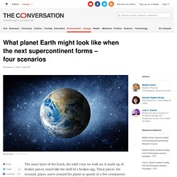 What planet Earth might look like when the next supercontinent forms – four scenarios