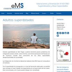 Adultos superdotados - El Mundo del Superdotado