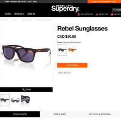 Rebel Sunglasses - Men's Sunglasses