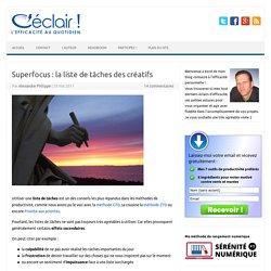 Superfocus : la liste de tâches des créatifs