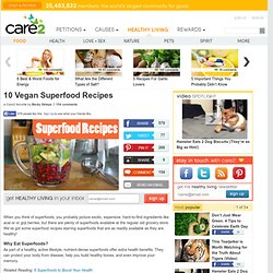 10 Tasty Superfood Recipes