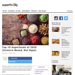 Top 10 Superfoods of 2020 (Science-Based, Not Hype)